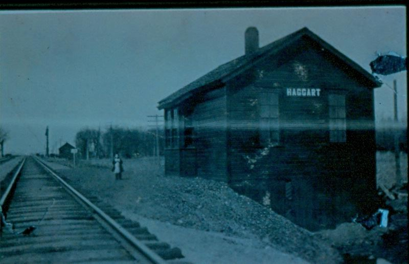 "Haggart ""whistle stop"", unknown date"