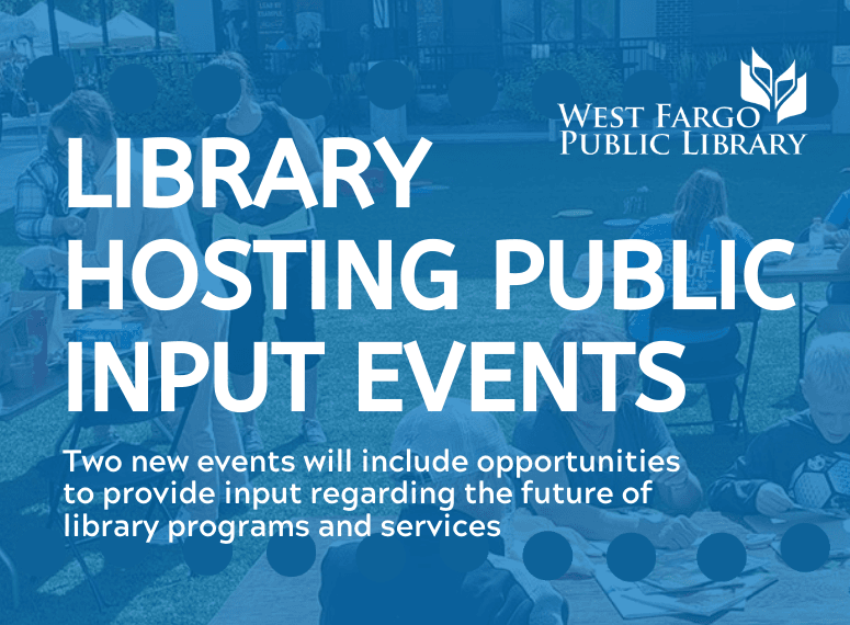 Library Hosting Public Input Events