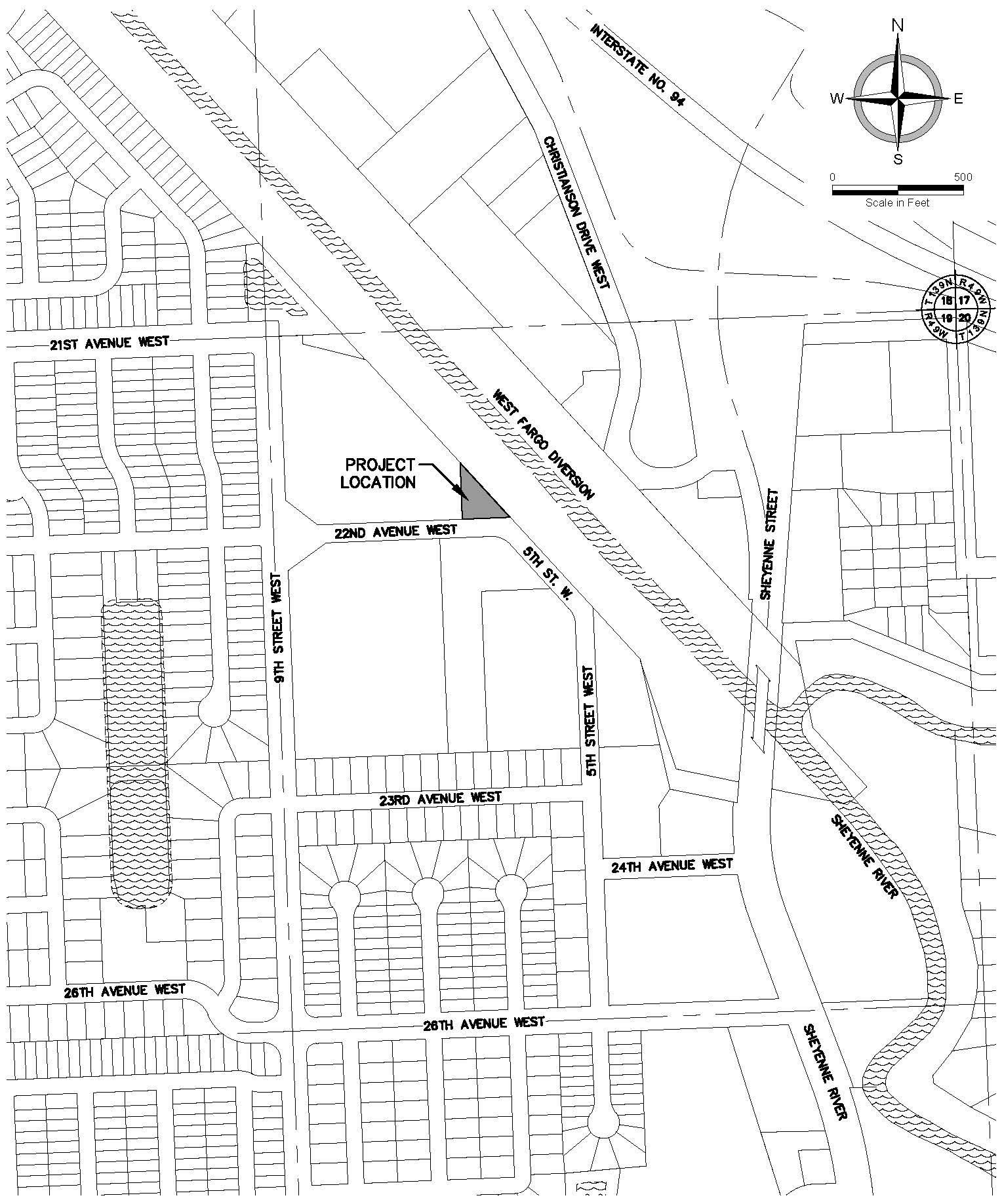 Brooks Harbor Water Tower site map
